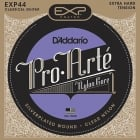 D'addario EXP44 Coated Classical Guitar Strings Hard Tension