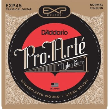 D'addario EXP45 Pro-Arte Normal Tension Coated Classical Guitar Strings