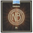 D'Addario NB1253 Nickel Bronze Light Gauge Acoustic Guitar Strings 12-53