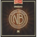 D'Addario NB1356 Nickel Bronze Medium Gauge Acoustic Guitar Strings 13-56