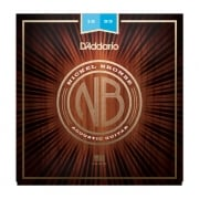 D'addario Nickel Bronze Light 12-53 Acoustic Guitar Strings