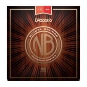 D'addario Nickel Bronze Medium 13-56 Acoustic Guitar Strings