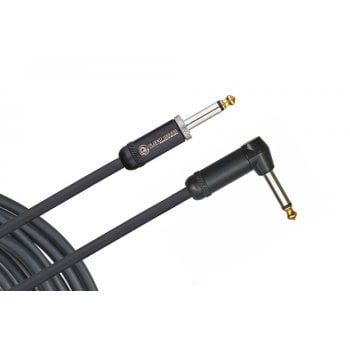 D'addario Planet Waves American Stage Instrument Cable - 10 ft / 3 m Right Angled To Straight