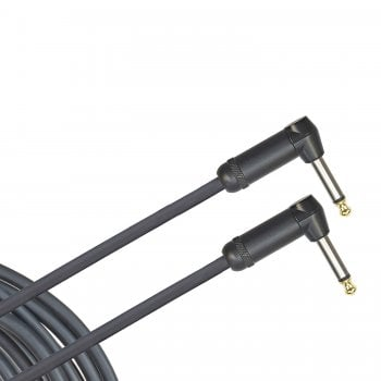 Planet Waves D'Addario Planet Waves American Stage Instrument Cable - 20 ft / 6 m Right Angled To Right Angled