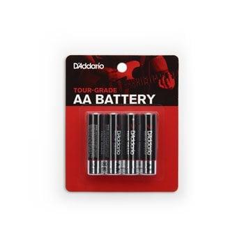 D'Addario Tour Grade AA Batteries - Pack of 4