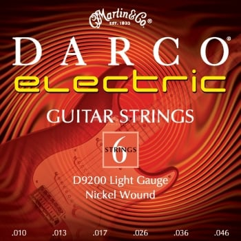 Darco D9200 Light Electric Guitar Strings .010 - .046