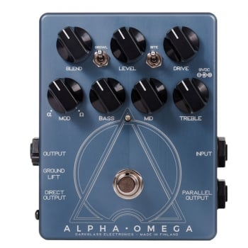 Darkglass Alpha / Omega Bass Distortion Pedal