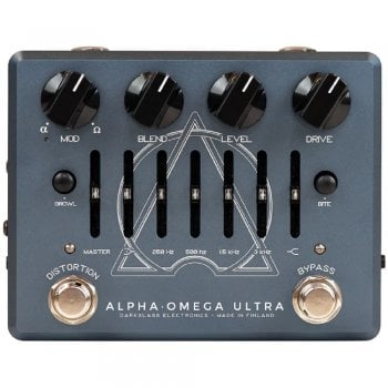Darkglass Alpha Omega Ultra V2 Bass Preamp Pedal With Aux In