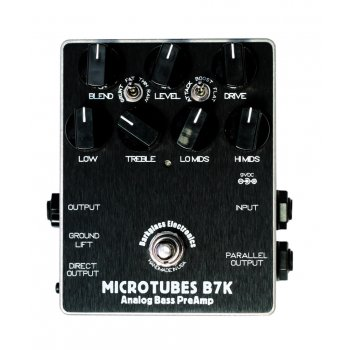 Darkglass B7K Microtubes Bass Preamp/DI Pedal (Handmade in USA)