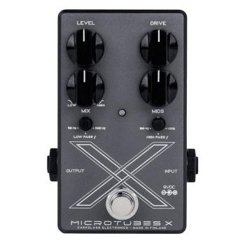 Darkglass Microtubes X Multiband Bass Drive Pedal