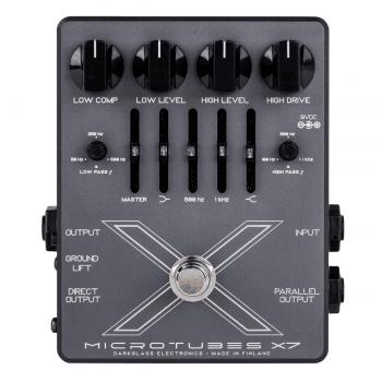 Darkglass Microtubes X7 Multiband Bass Drive/EQ/DI Pedal