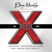 Dean Markley Helix Bass Guitar Strings Med Light 45-105 Multi Pack x2