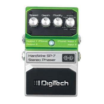 Digi-Tech Hardwire Stereo Phaser SP-7 Guitar Pedal