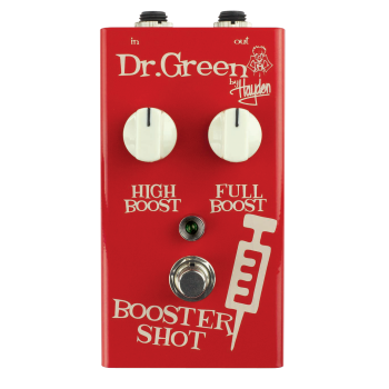 Dr Green Booster Shot Boost Guitar Effect Pedals
