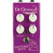 Dr Green Doctors Note Bass Envelope Filter Pedal