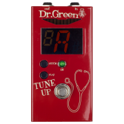Dr Green Tune Up Tuner Pedal For Guitar Or Bass