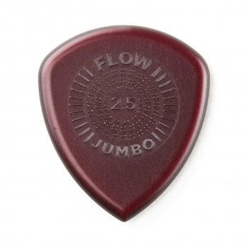 Dunlop 547P2.5 Flow Jumbo Pick / Plectrum 2.5mm  3-Pack