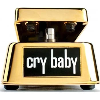Dunlop GCB95G 50th Anniversary Gold Plated Cry Baby