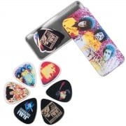 Dunlop Jimi Hendrix Collectors Series Pick Tin With 12 Picks