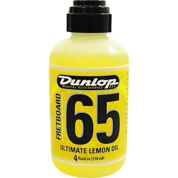Dunlop Lemon Oil 4OZ Bottle Fretboard Cleaner