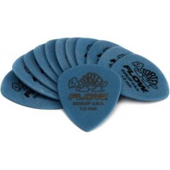 Dunlop Tortex Blue 1.0mm Guitar Picks (12 Pack)