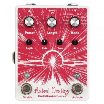 EarthQuaker Devices Astral Destiny Modulated Octave Reverb Guitar Pedal