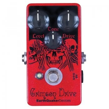 EarthQuaker Devices Crimson Drive Overdrive Pedal (Pre-owned)