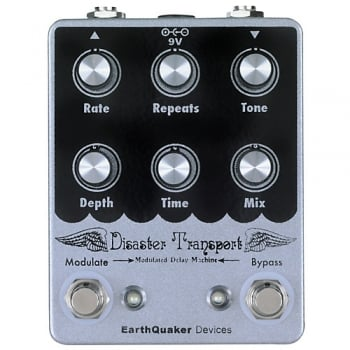 EarthQuaker Devices Disaster Transport Modulated Delay