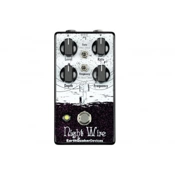 EarthQuaker Devices Night Wire Dynamic Harmonic Tremolo Pedal