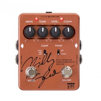 EBS Billy Sheehan Signature Deluxe Analog Bass Drive Pedal