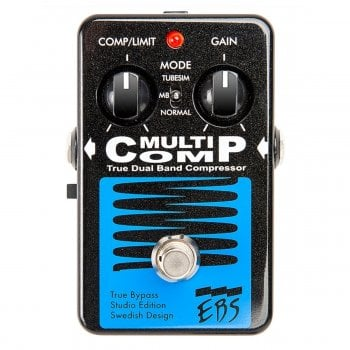 EBS MultiComp Studio Edition Dual Band Compressor Pedal