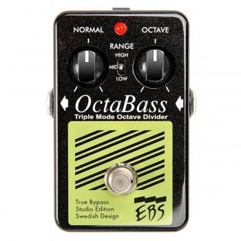 EBS OctaBass Studio Edition Triple Mode Octave Pedal