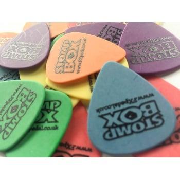 EffectPowerSupplies.com Stompbox Guitar Picks Pack of 6 (D'andrea Dulrex)