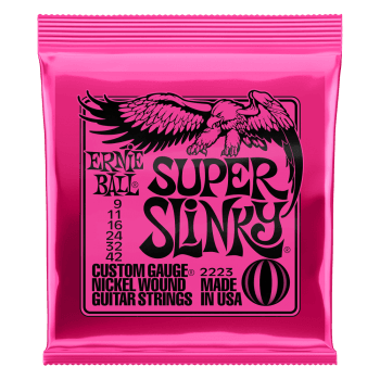 Ernie Ball 2223 Super Slinky Guitar Strings 9-42
