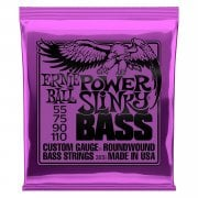 Ernie Ball 2831 Power Slinky Nickel Round Wound Bass Strings 55-110