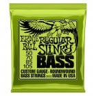 Ernie Ball 2832 Regular Slinky Nickel Round Wound Bass Strings 50-105