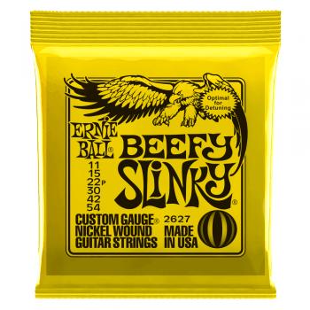 Ernie Ball Beefy Slinky Guitar Strings 11-54