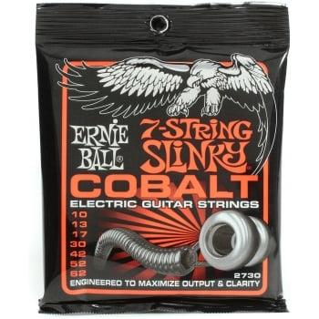 Ernie Ball Cobalt Slinky 7 String Skinny Top Heavy Bottom 10-62