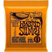 Ernie Ball Hybrid Slinky Guitar Strings 3 Pack