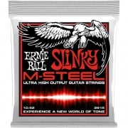 Ernie Ball M-Steel Skinny Top Heavy Bottom Guitar Strings