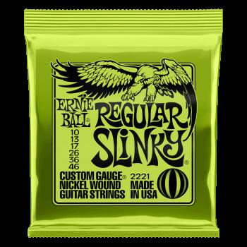Ernie Ball Regular Slinky Guitar Strings 10-46