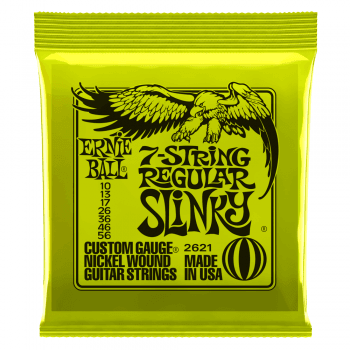 Ernie Ball Regular Slinky Guitar Strings 10-56 - For 7 String Guitars