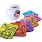 Ernie Ball Slinky Drink Coasters (6 Pack)