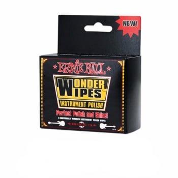 Ernie Ball Wonder Wipes Instrument Polish (6 Pack)