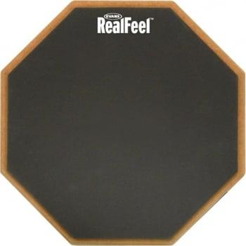 Evans Realfeel 12'' Single-Sided Speed Practice Drum Pad
