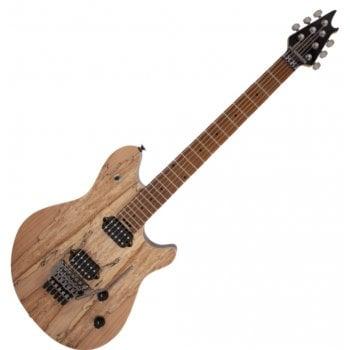 EVH (Eddie Van Halen) Wolfgang WG Standard Exotic Spalted Maple, Baked Maple Fingerboard, Natural