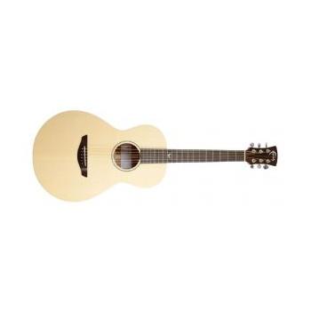 Faith FKM Naked Mercury Parlour Acoustic Guitar
