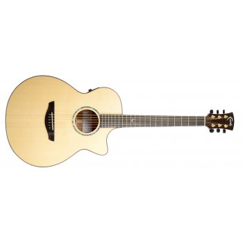 Faith FV Venus Concert Cutaway Electro Acoustic Guitar (Including Hard Case)
