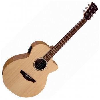 Faith FKV Naked Venus Electro-Acoustic Guitar, Natural