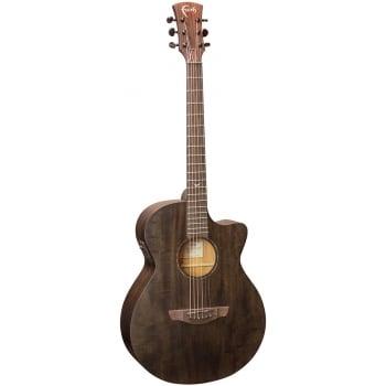 Faith FKVBK Naked Venus  Electro Acoustic Black Stain Guitar